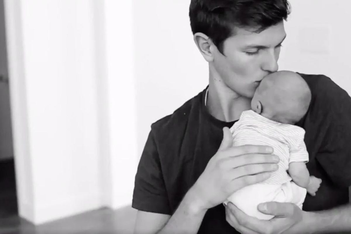 Hailey Devine posted a video honoring her husband on Father's Day.