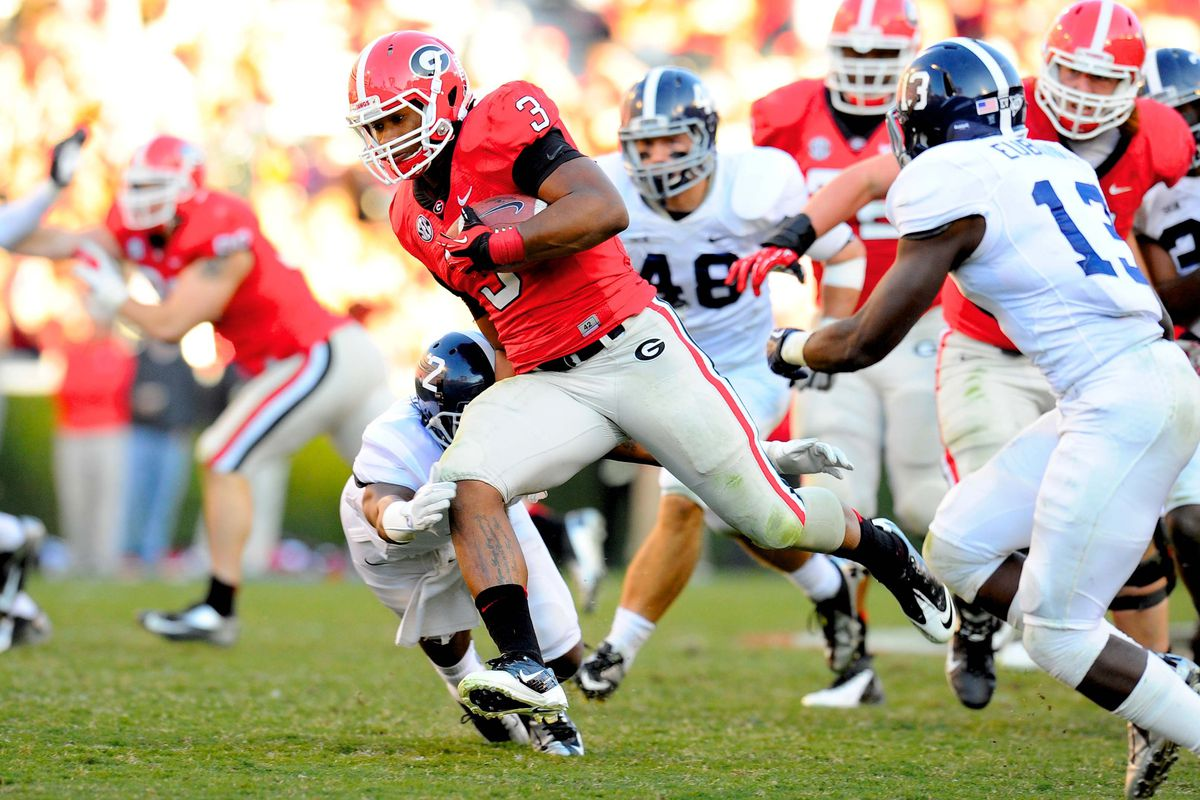 Gurley might be back on Saturday, giving UGA at least RB/WR  who was a projected starter at the beginning of the season.
