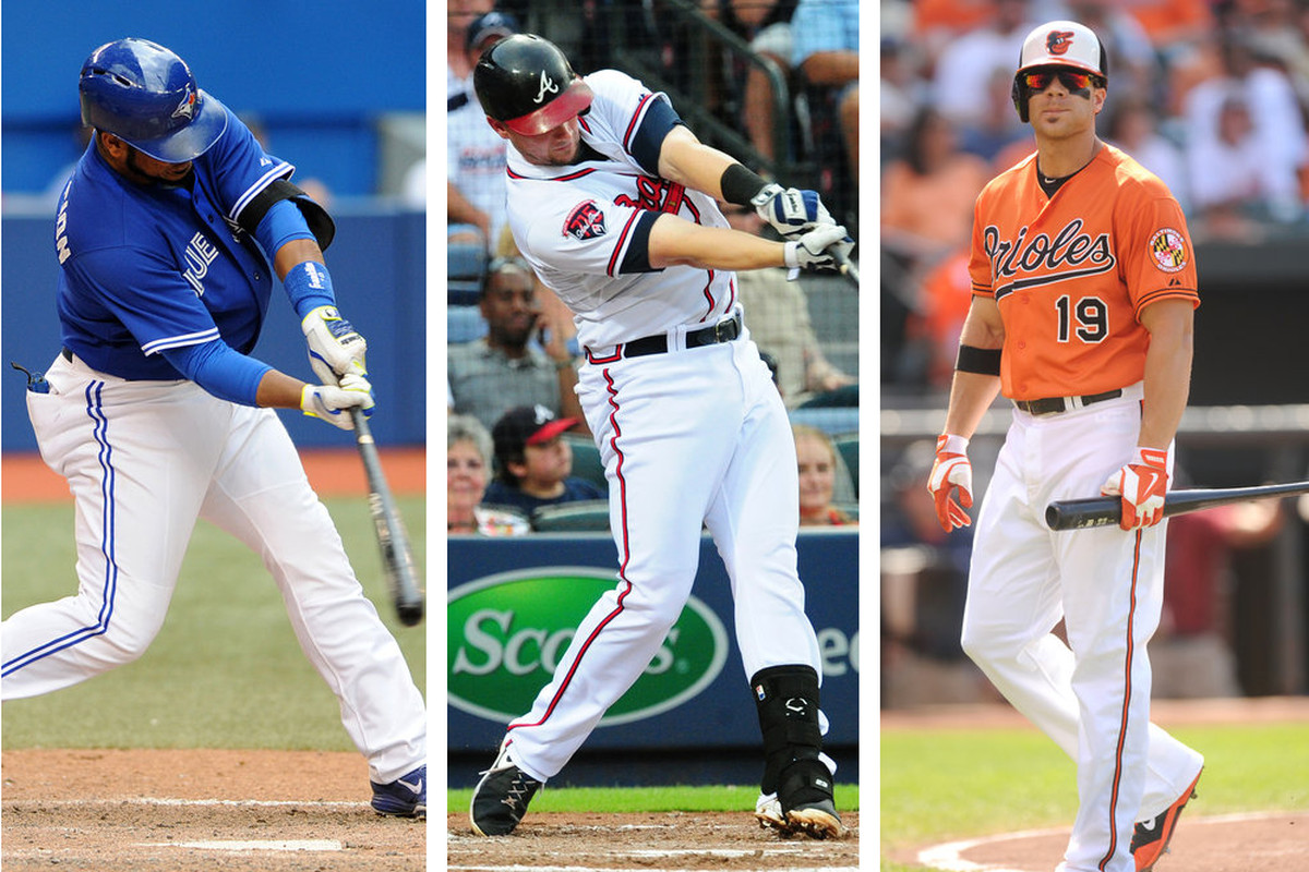 Encarnacion, Johnson, and Davis each have quirky stories with regards to their balls in play.