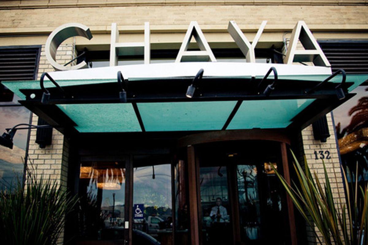 Reflecting on Chaya.