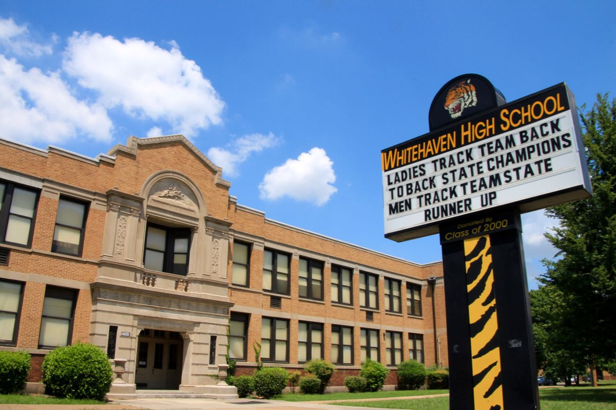 Whitehaven High School is the anchor school for the Empowerment Zone, the first initiative to expand the lessons learned in the iZone.