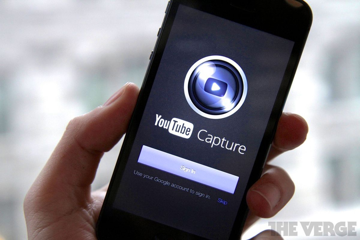 YouTube launches Capture, a video recording and enhancing app for