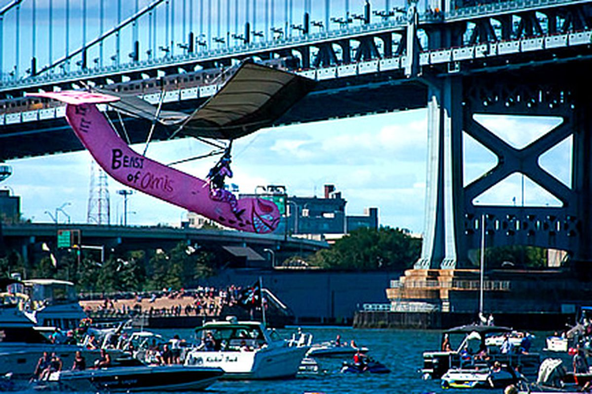 The Amis crew did well at the Red Bull Flugtag
