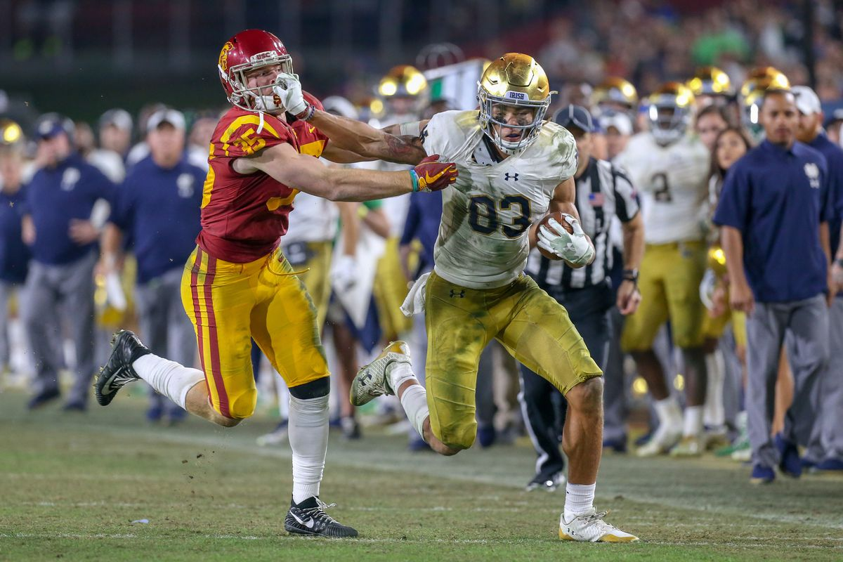 COLLEGE FOOTBALL: NOV 24 Notre Dame at USC