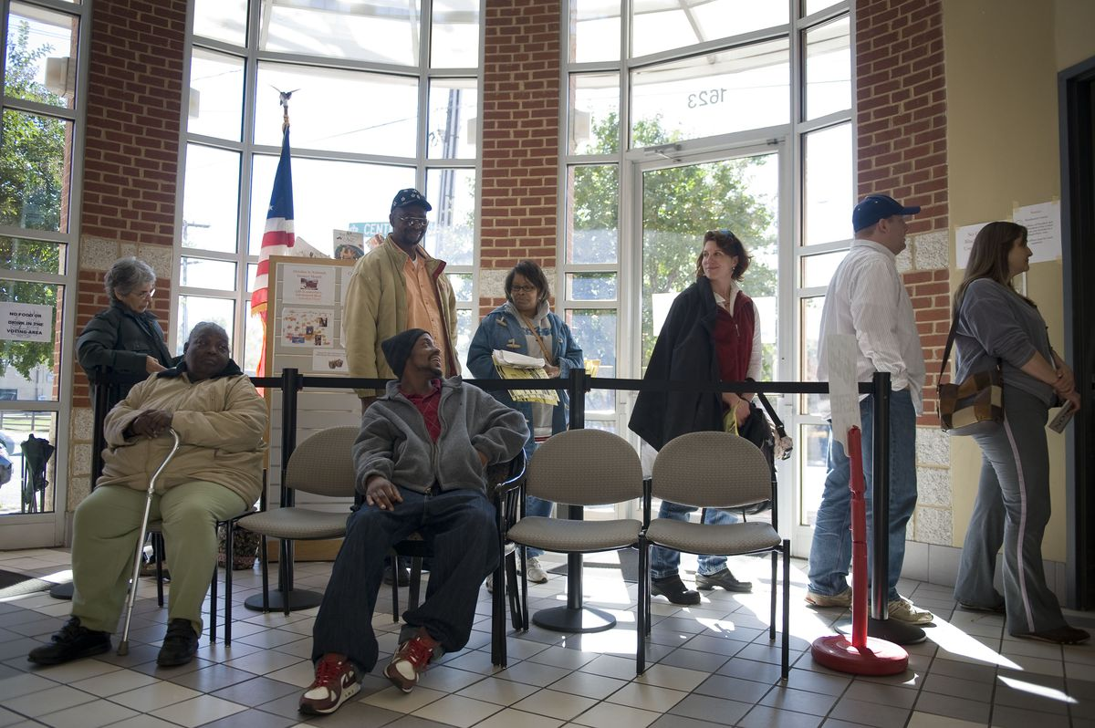 North Carolina Officials Extend Early Voting Due To Record Turnout