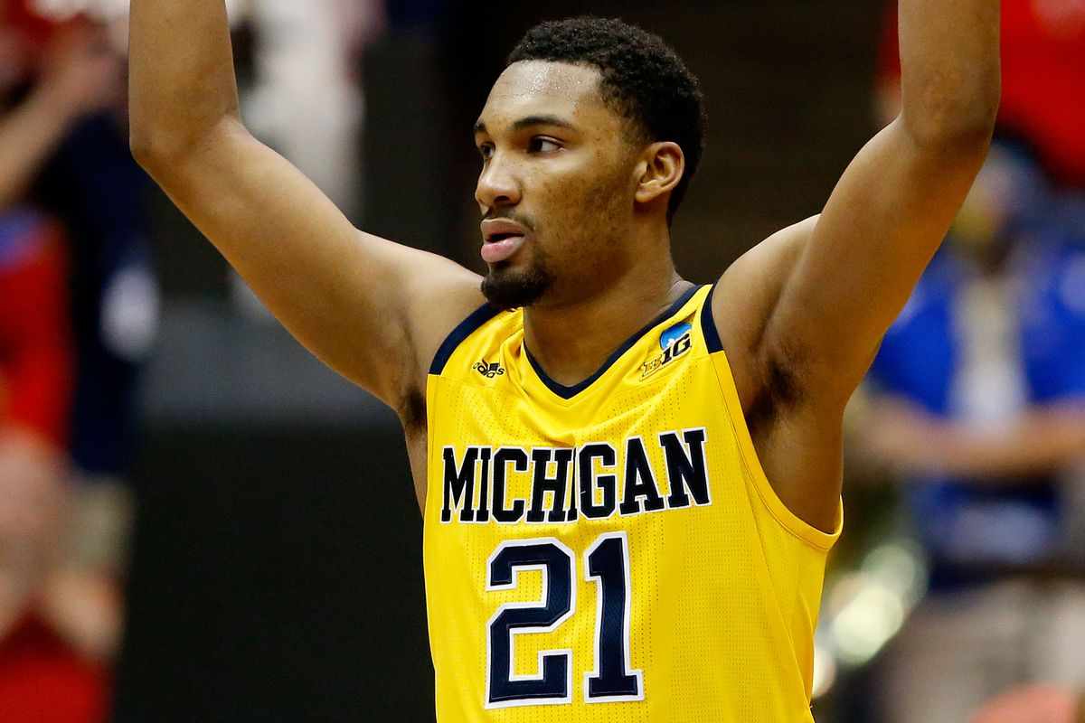 Zak Irvin's go-ahead three-pointer with 55 seconds left was instrumental to Michigan's victory.