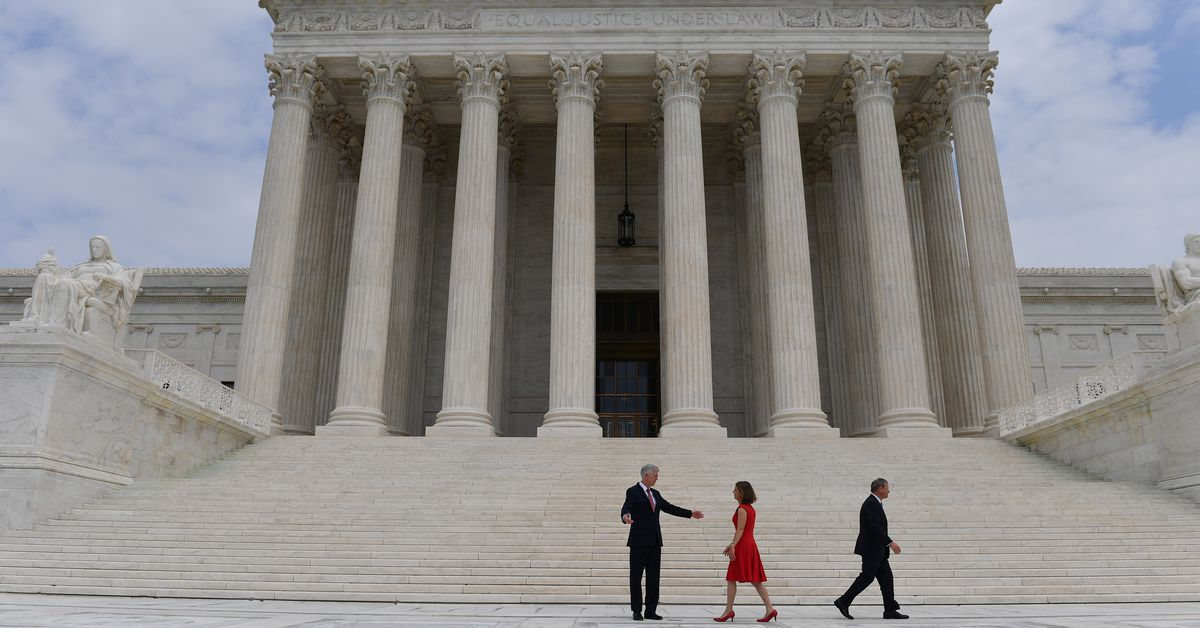photo image The Supreme Court could soon clear the way for states to impose new online sales taxes