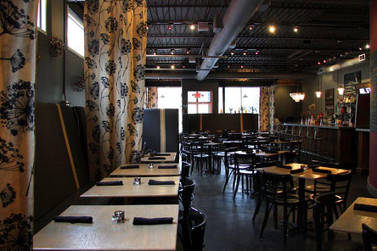 Sprig Restaurant.