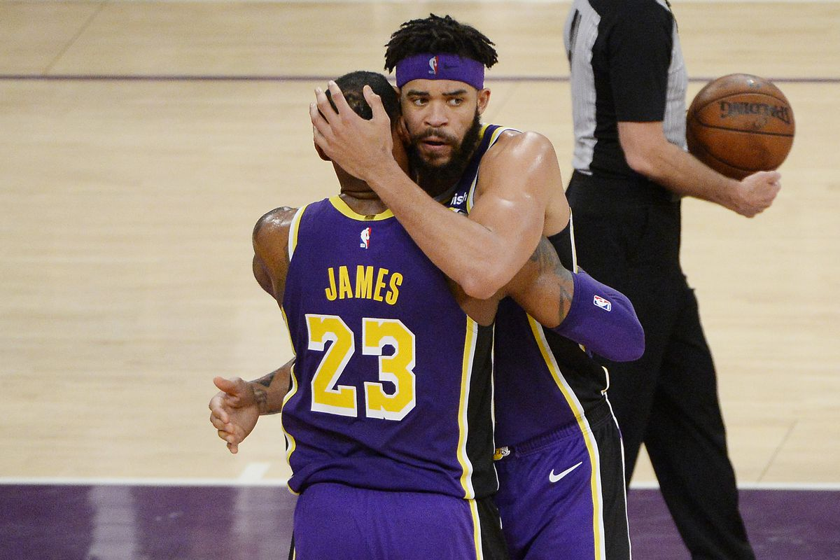 more photos 55b0d 24da2 JaVale McGee hoping he can re-sign with Lakers in free ...