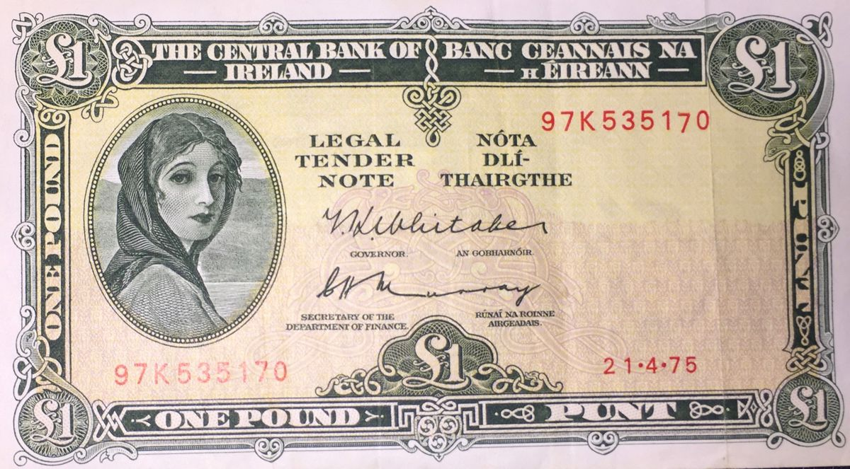 The face of a Chicago woman, Hazel Lavery, graced Irish banknotes for half a century.