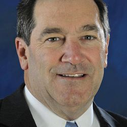 Democratic U.S. Senate candidate Joe Donnelly poses for a photo before an interview with the Associated Press in Indianapolis, Wednesday, Sept. 26, 2012.  Donnelly is running against Republican Richard Mourdock to replace Richard Lugar.