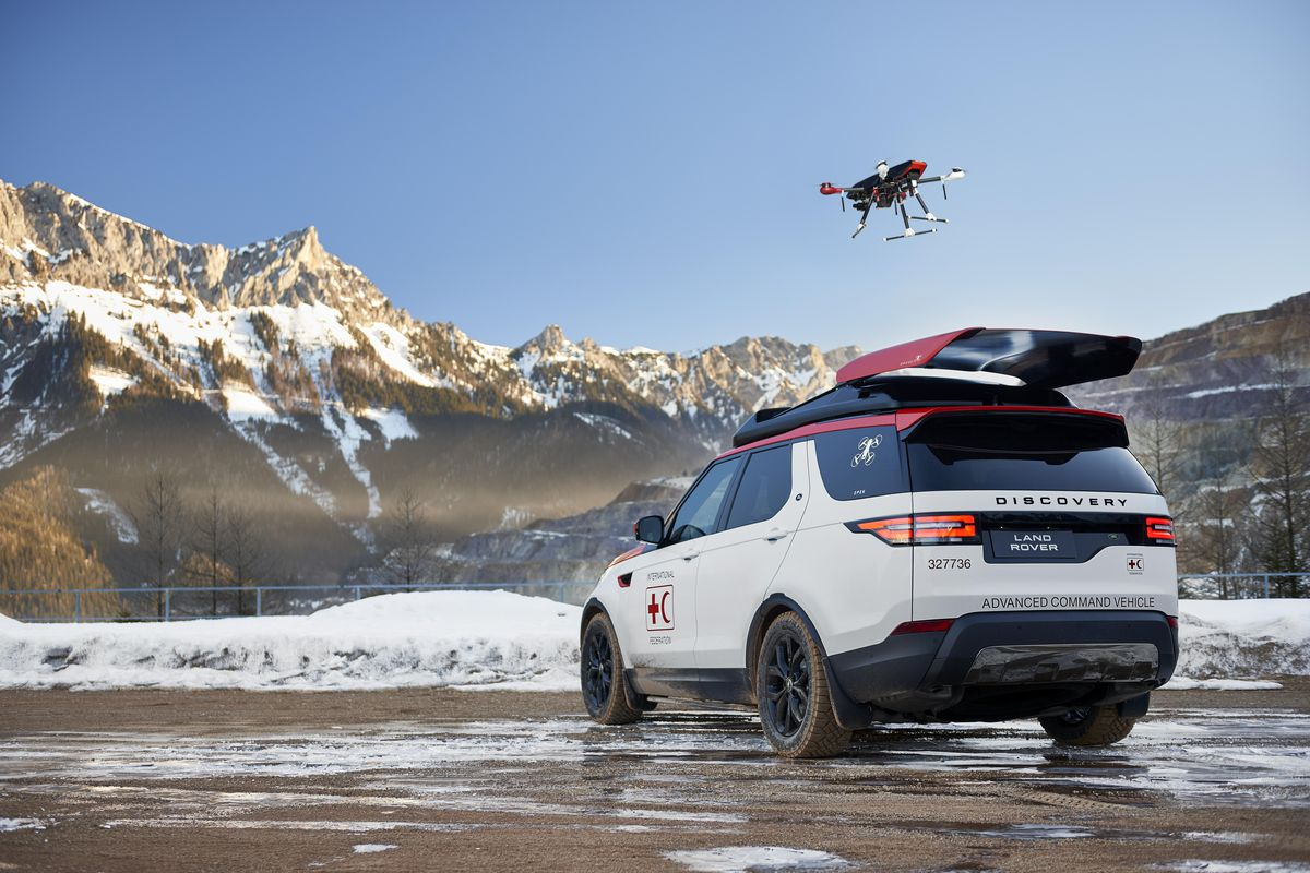 Land Rover Has Created A Special Discovery With A Roof Mounted