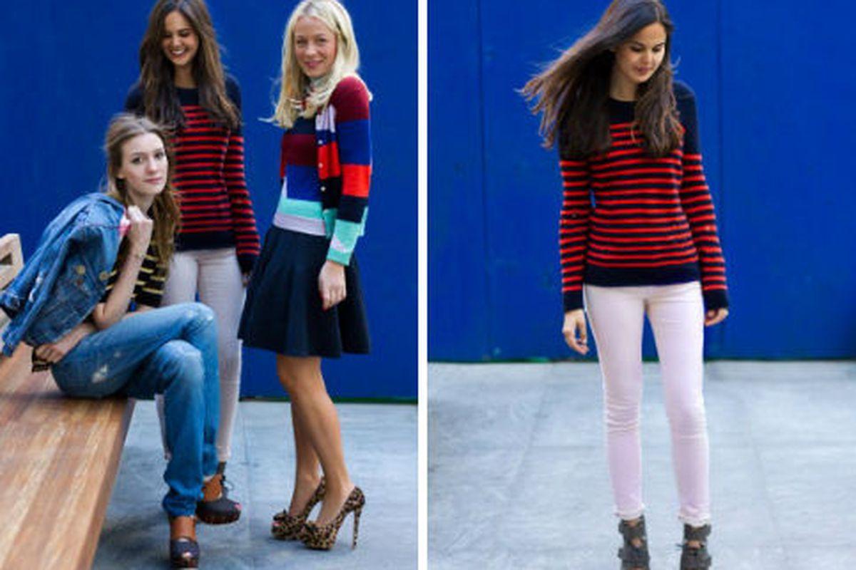 "Joseph Altuzarra's distressed Breton-striped sweater for J.Crew,  via <a href=""http://www.vogue.com/vogue-daily/article/the-latest-jcrewvogue-fashion-fund-collaborationsand-how-to-wear-them/"">Vogue.com</a>"