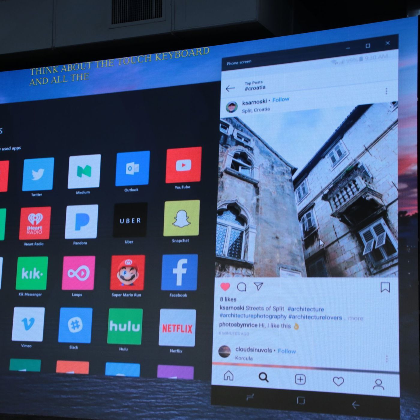 Microsoft is embracing Android as the mobile version of Windows