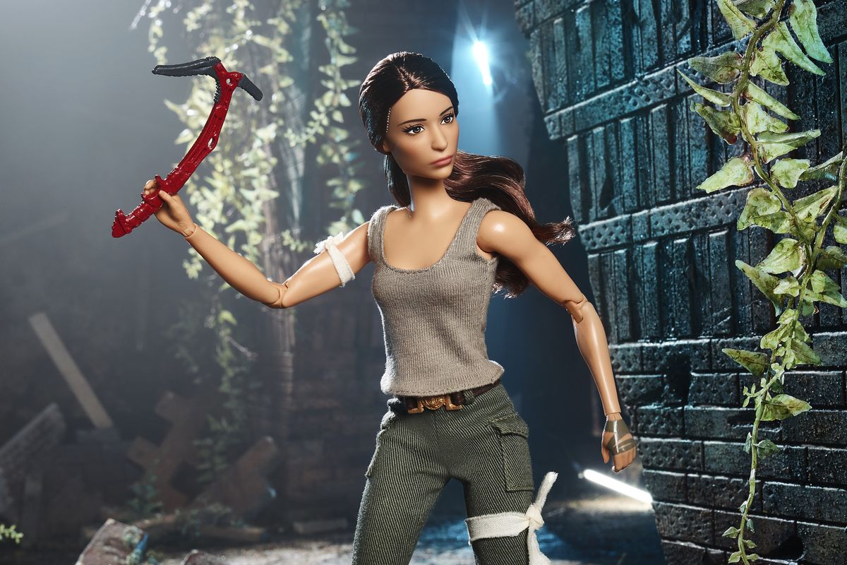 Mattel unveils Lara Croft Tomb Raider Barbie doll