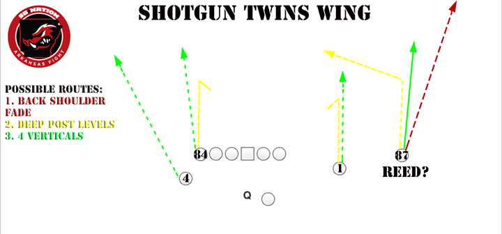 Reed Twins set routes