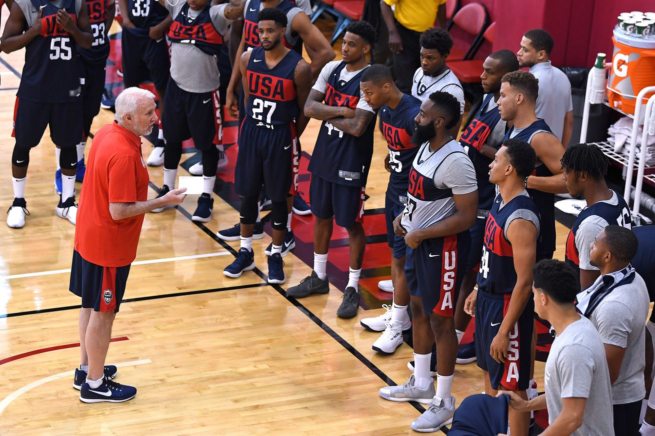 Basketball: USA Men's Basketball National Team Minicamp