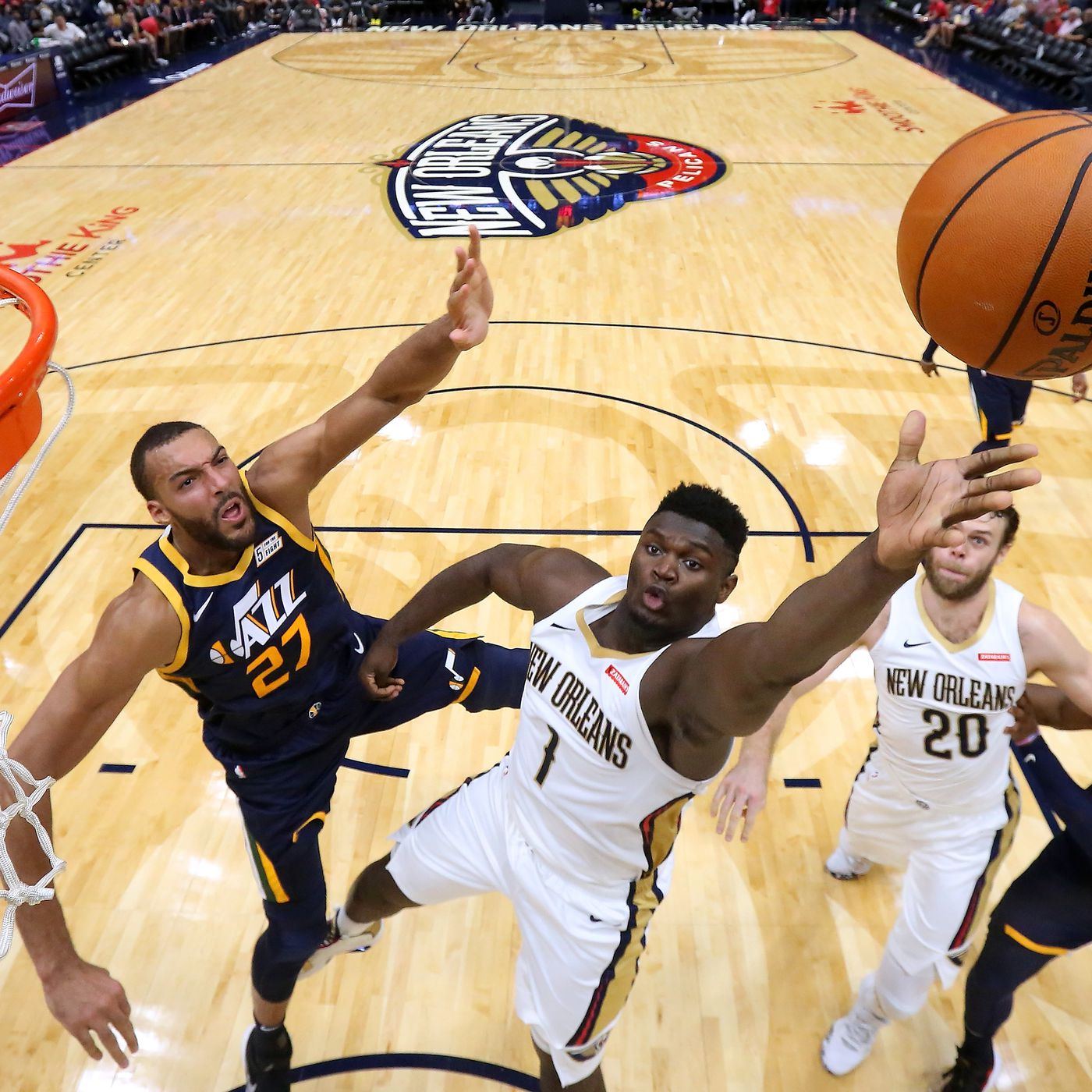 New Orleans Pelicans Remain Perfect In Preseason Play As Zion And Naw Were Spectacular In Victory Over Utah Jazz 128 127 The Bird Writes