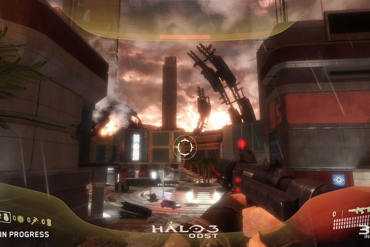 Here S What Halo 3 Odst Looks Like In The Master Chief