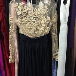 Catherine Deane gown (with stretched neckline), $342