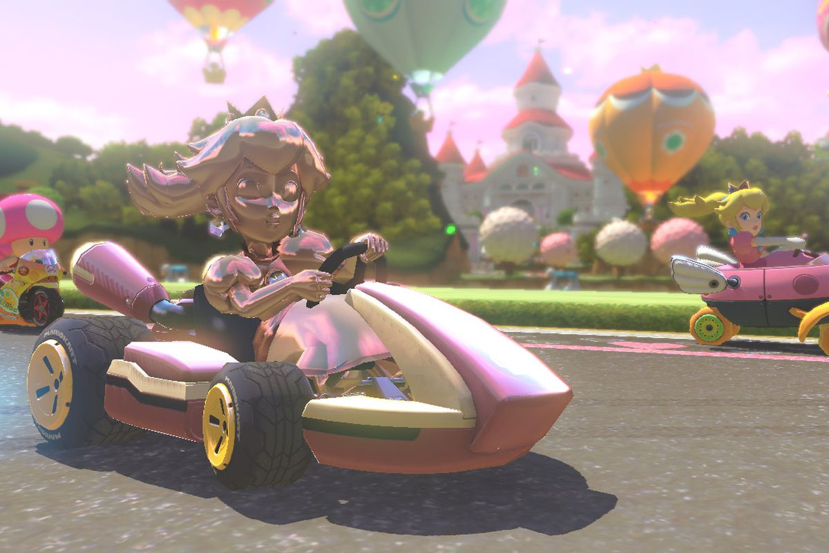 Mario Kart 8 Features Customizable Online Tournaments And