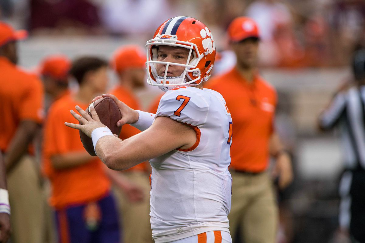 The Tigers Qb Depth Chart Has Thinned As Lawrence Risen