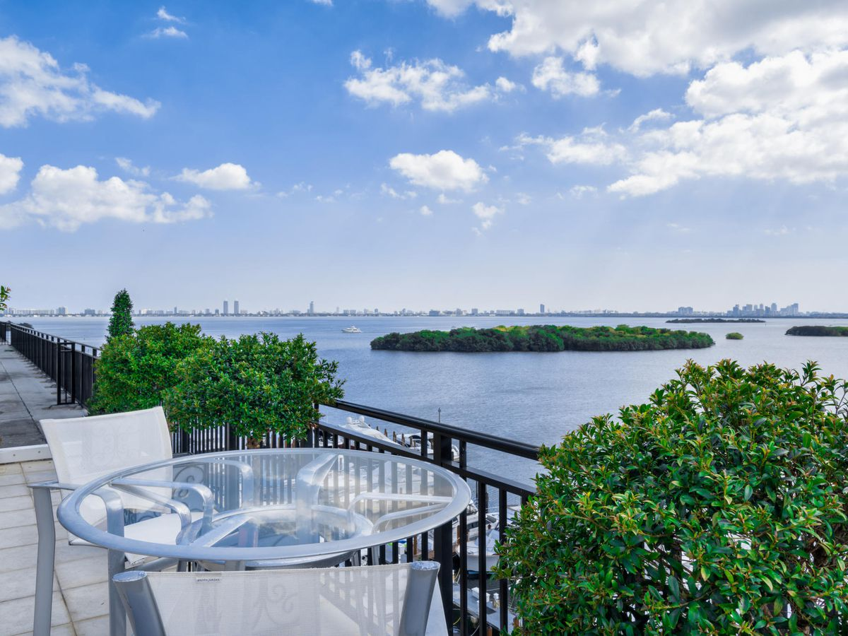 A penthouse at Palm Bay in Edgewater with an unbelievable view