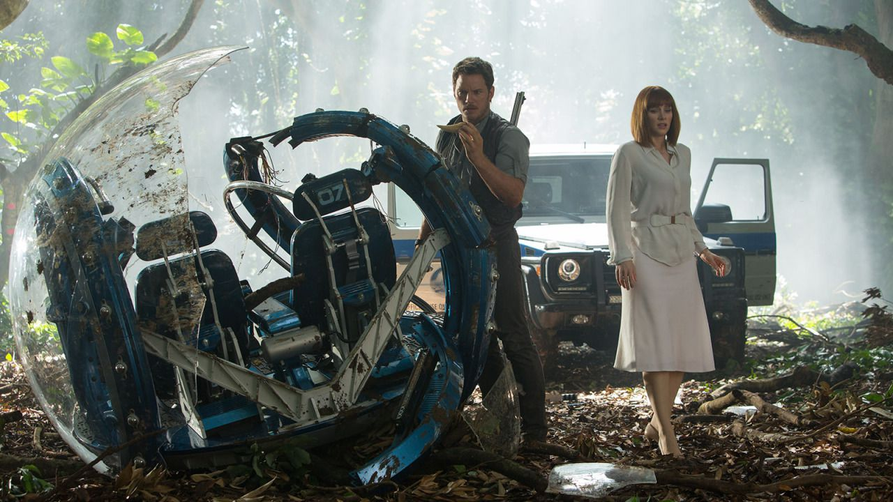 Jurassic World Owen and Claire