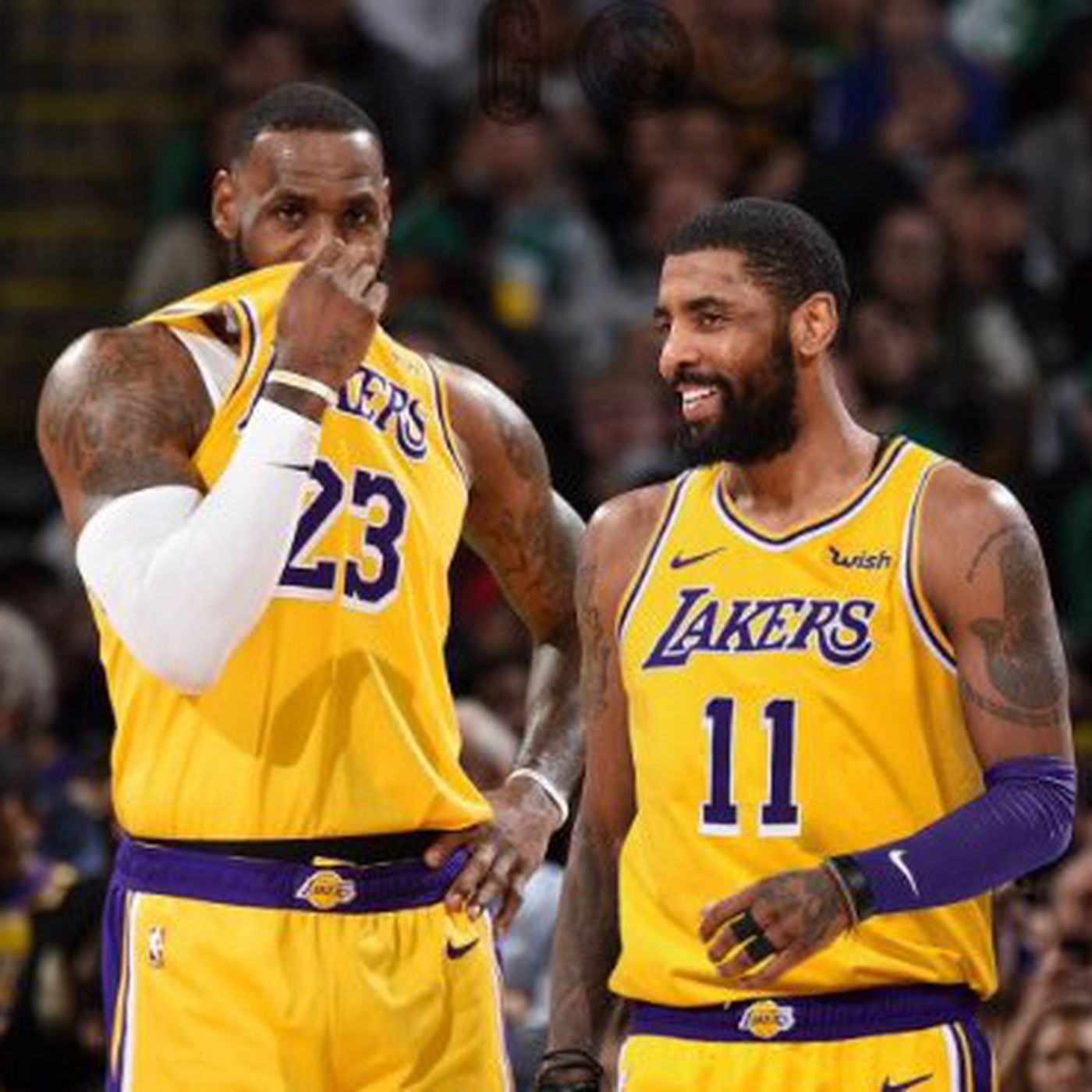 Nba Rumors Kyrie Irving Wants To Play With Anthony Davis