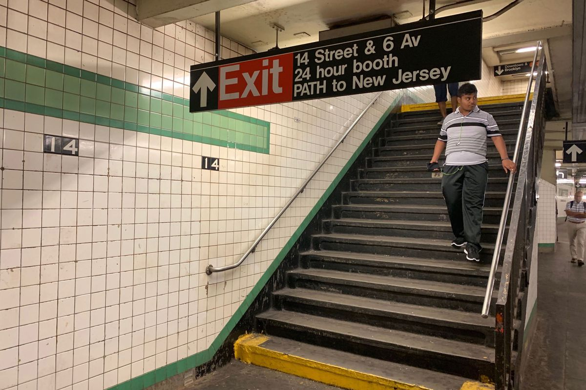 14th Street and Sixth Avenue station will eventually become ADA accessible.