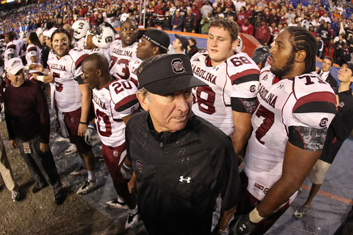 South Carolina's schedule isn't the hardest in the conference, but looking at it compared to Georgia's should give the Gamecocks pause.