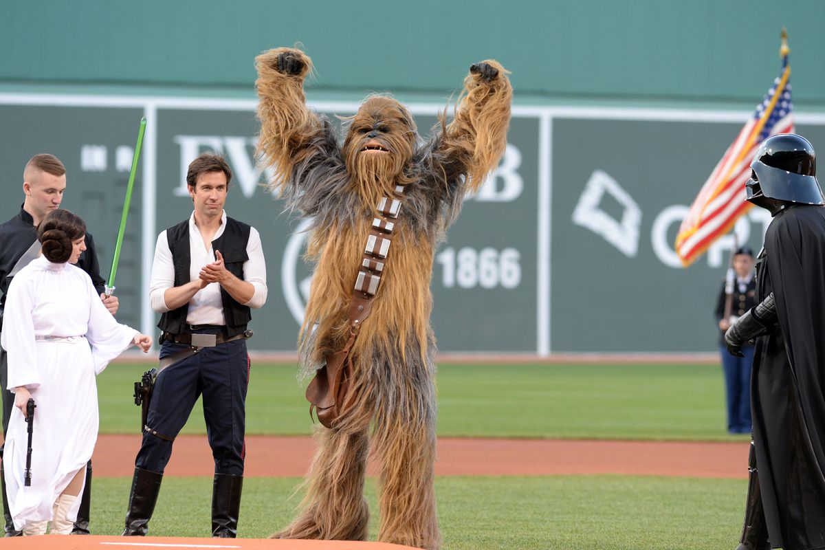 red sox announce star wars night among other promotions - over the