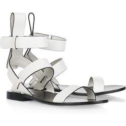 "<a href=""http://www.net-a-porter.com/product/190043""> Alexander Wang Annette Leather Sandals</a>, $350 netaporter.com"