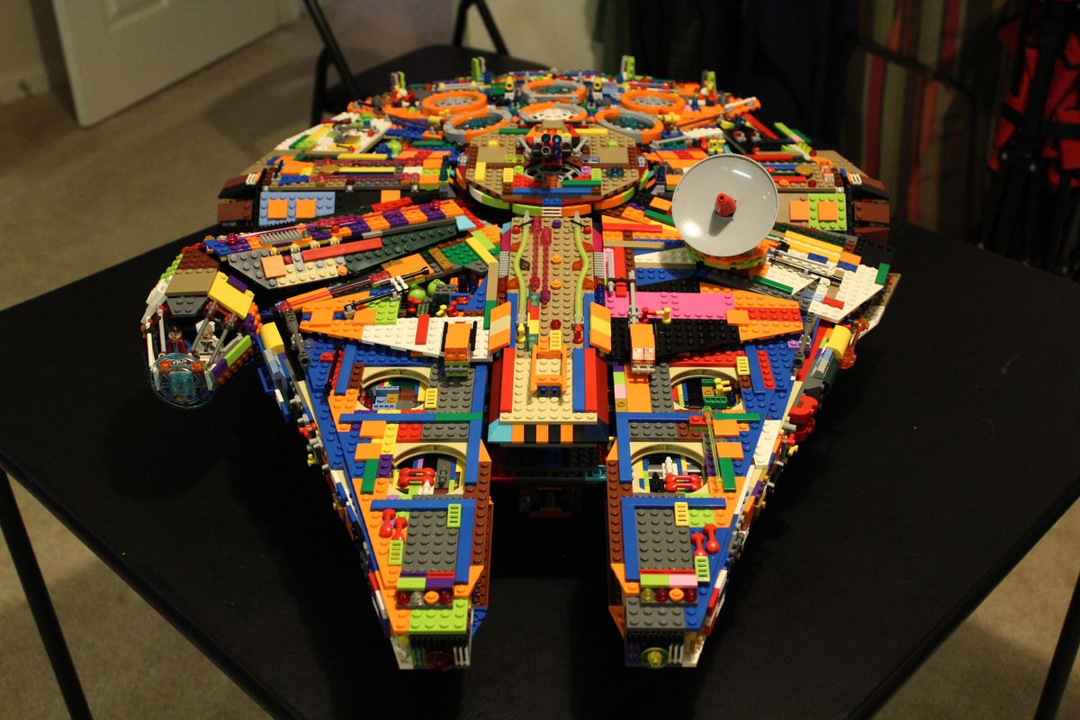 Car For Cash >> Save some cash and make your own colorful Lego Millennium Falcon - Polygon