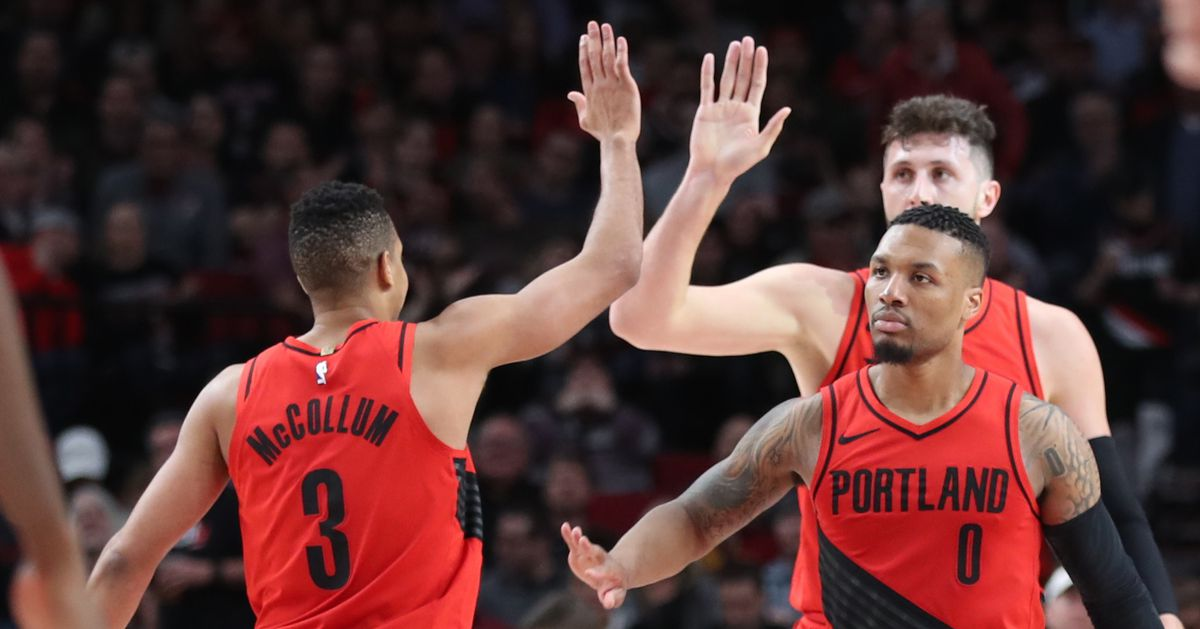 Blazers? Starting Five Ranked No. 13 in the NBA