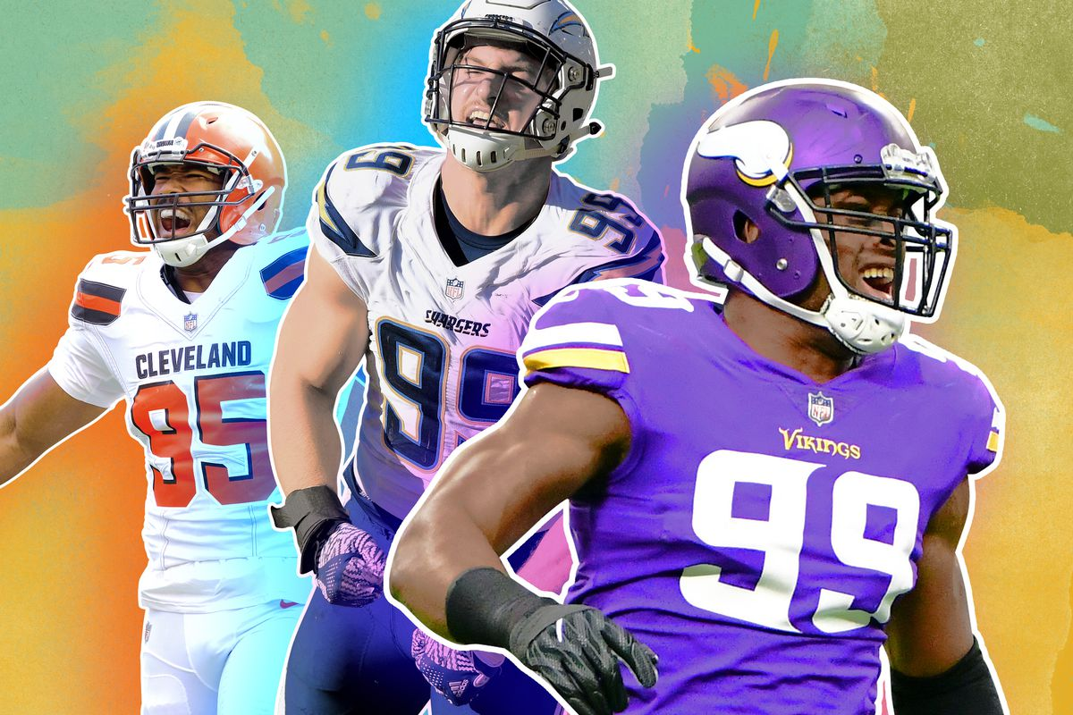 cde6228a1 The Vikings locked in another core piece of their defensive foundation last  week by inking pass rusher Danielle Hunter to a five-year