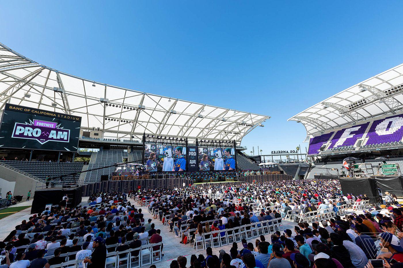 Fortnite's celebrity tournament felt like a trial run for