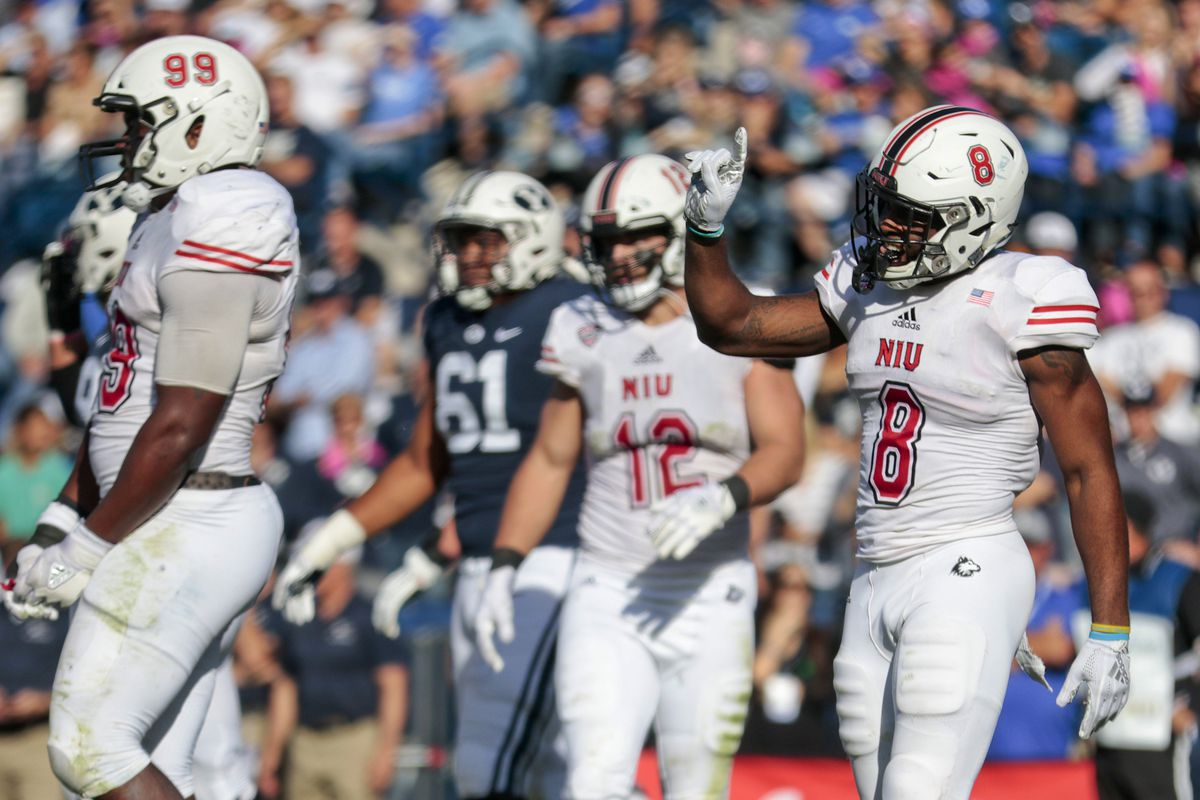 Northern Illinois will host Buffalo when the Mid-American Conference football season begins on Wednesday, Nov. 4.