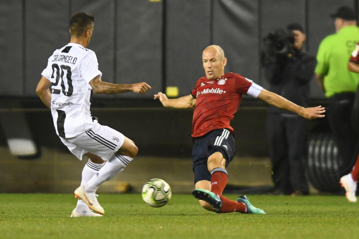 Soccer: International Champions Cup-Juventus at FC Bayern
