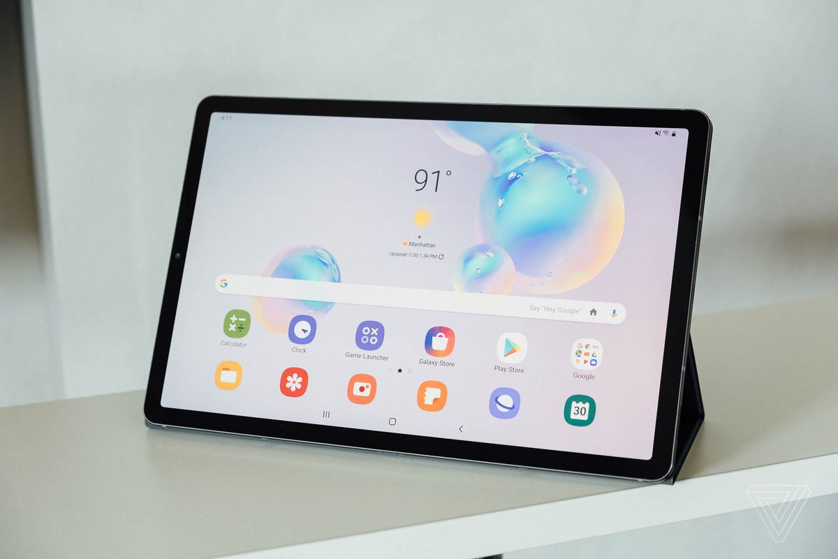 Best Samsung Tablet 2020.Samsung S Galaxy Tab S6 Is Its Latest Volley Against The