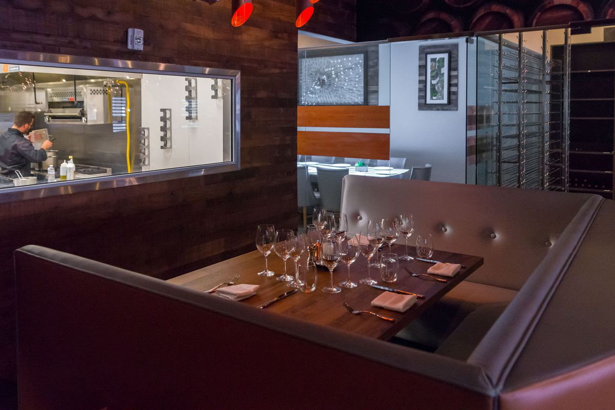 The chef's table at Partage