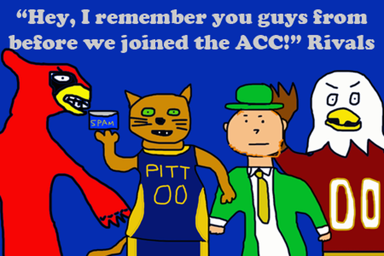 A Guide To Syracuse Rivalries With Awful Drawings Troy Nunes Is