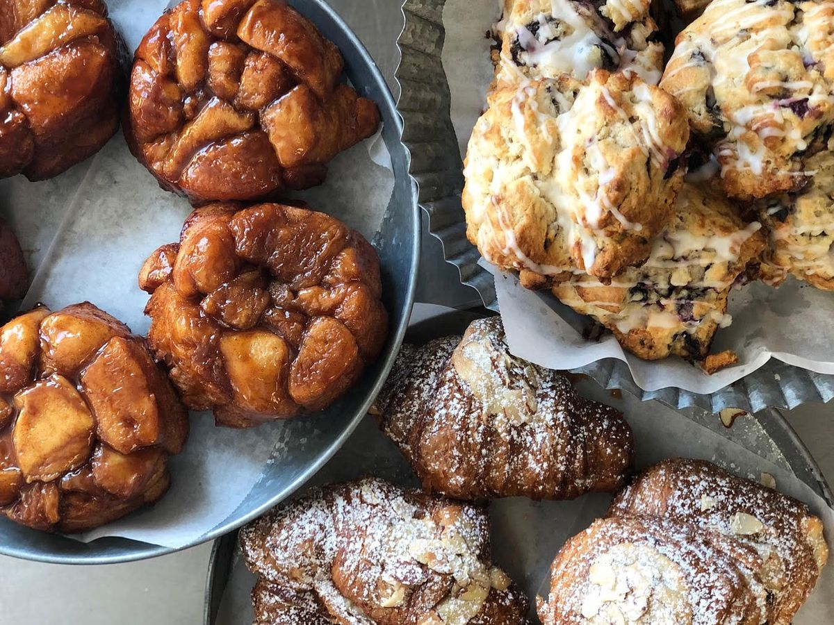 Pastries Crackling Crusted Baguettes And Monkey Bread Honey Rye Official