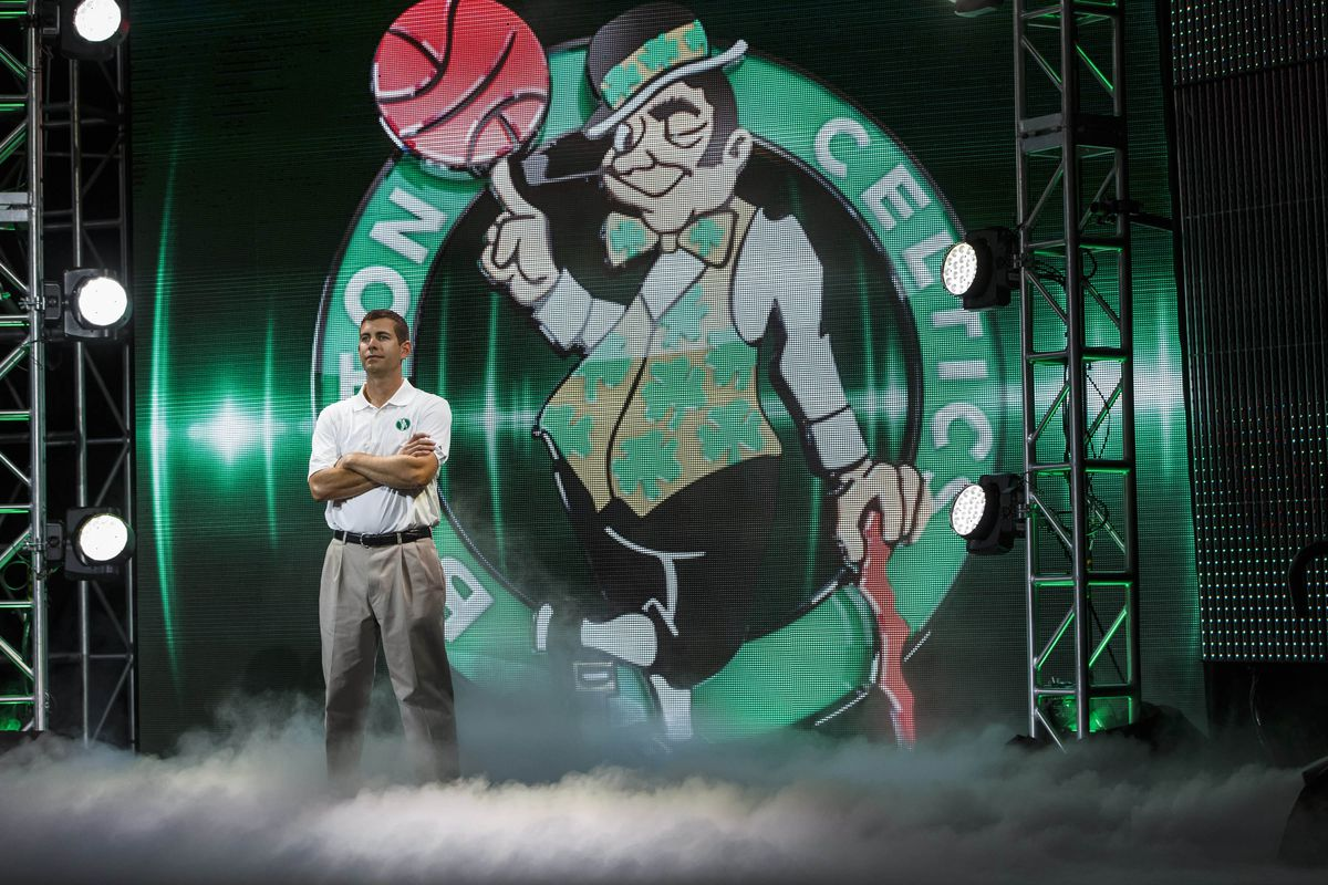 Celtics coach Brad Stevens is feeling good about his teams' recent play