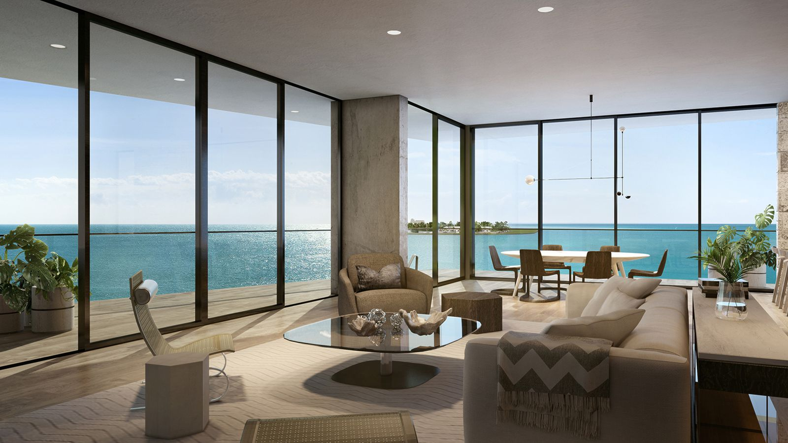 Fairchild coconut grove sells two penthouses for 8 5m for Penthouses for sale los angeles