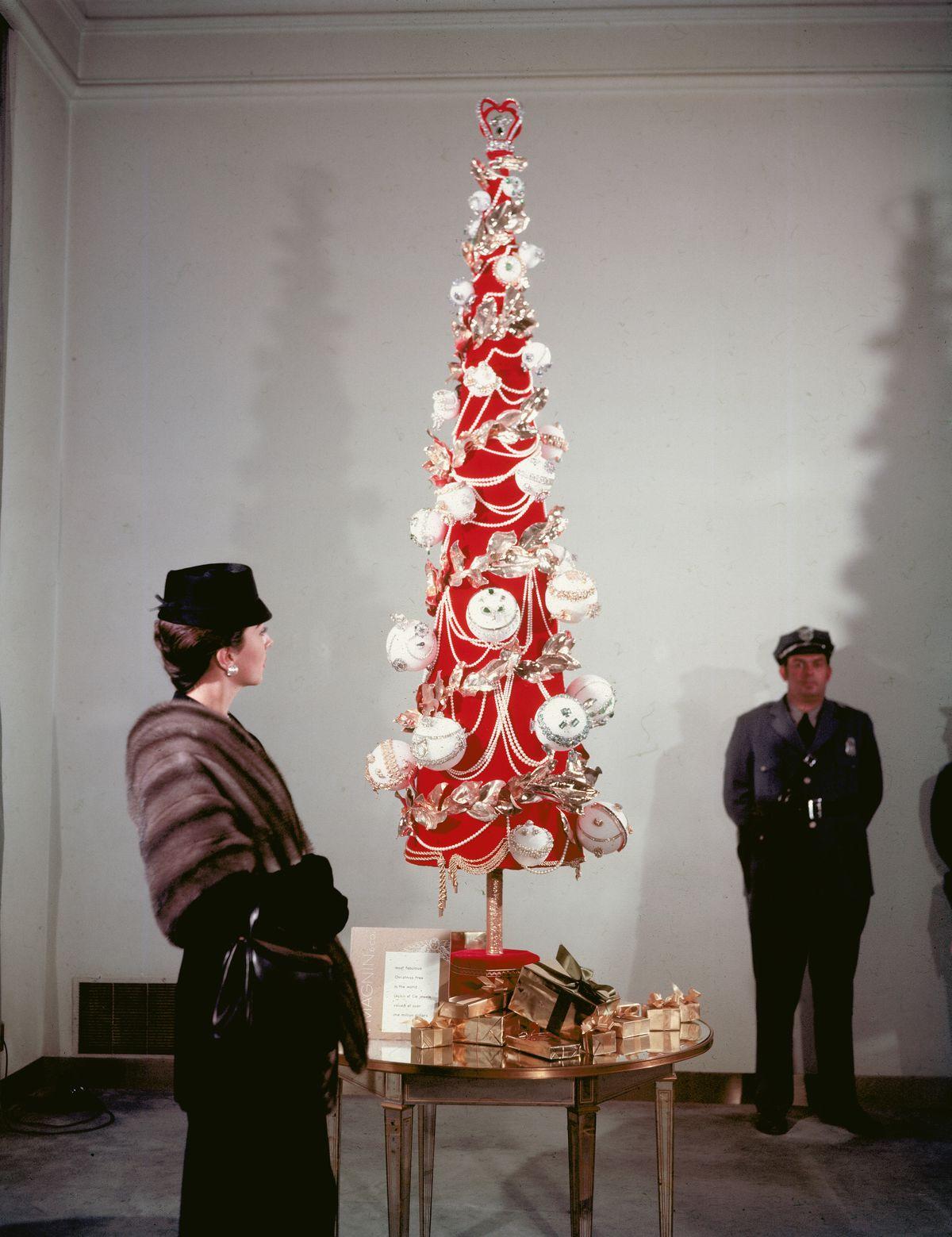 I. Magnin Christmas tree