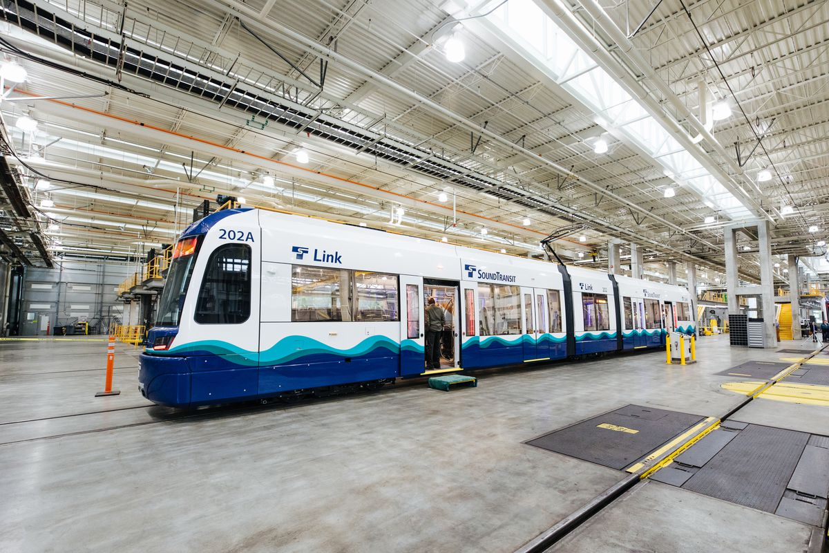 Take a first look at Sound Transit's new light rail trains
