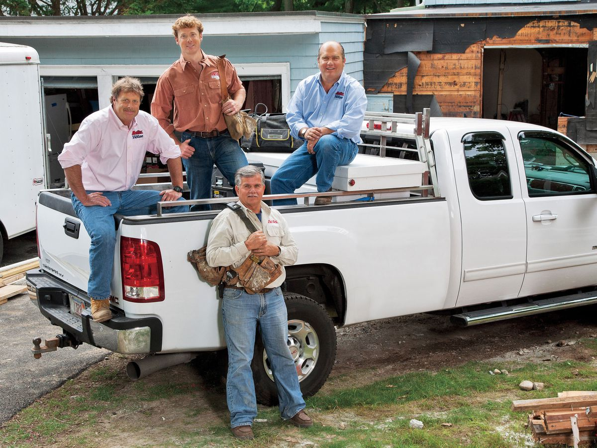 The cast of Ask This Old House, season 9