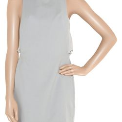 """<a href=""""http://www.theoutnet.com/product/173148"""">Dion Lee Wool and silk-crepe shift dress</a>, $182.25 (was $1,215)"""