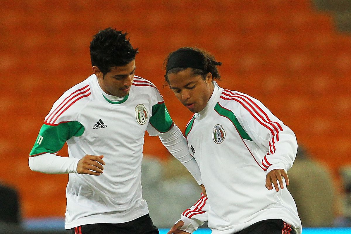 Mexico Training at Soccer City-2010 FIFA World Cup